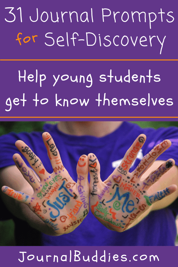 Whether you're looking to improve your students' confidence or trying to teach them about the value of reflective thought, use these 31 journal prompts for self discovery to guide your students in appreciating and loving themselves for who they are.