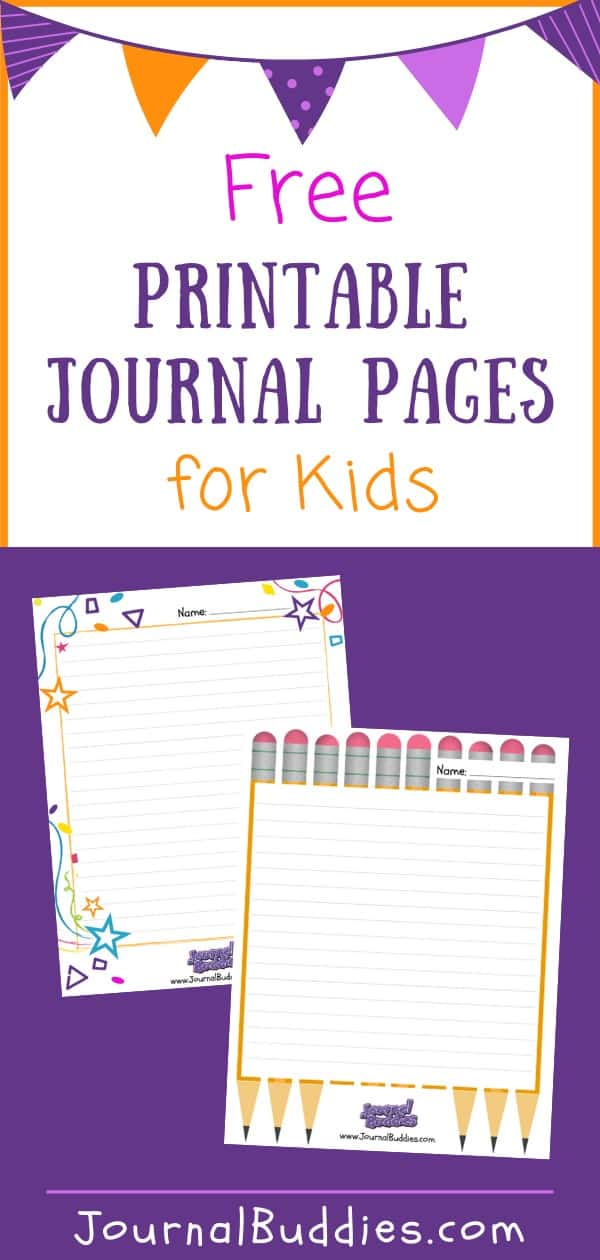 Kids Journal Page Printable