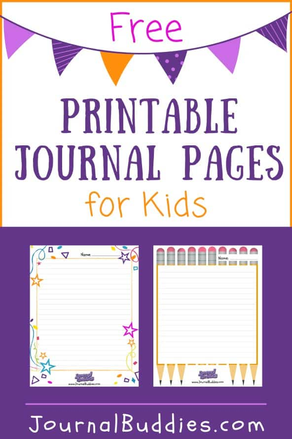 Journal Template Printables for Kids