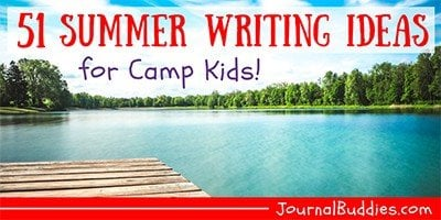 Summer Camp Writing Ideas for Kids