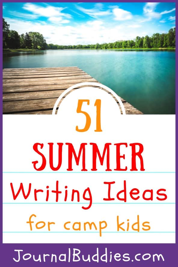 Camping Writing Ideas for Kids