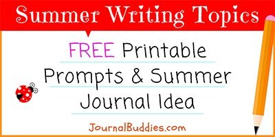 Summer Journal Ideas for Kids