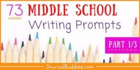 73 Writing Prompts for Kids (1/3)