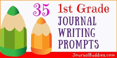 Journal Ideas and Writing Prompts for Grade 1