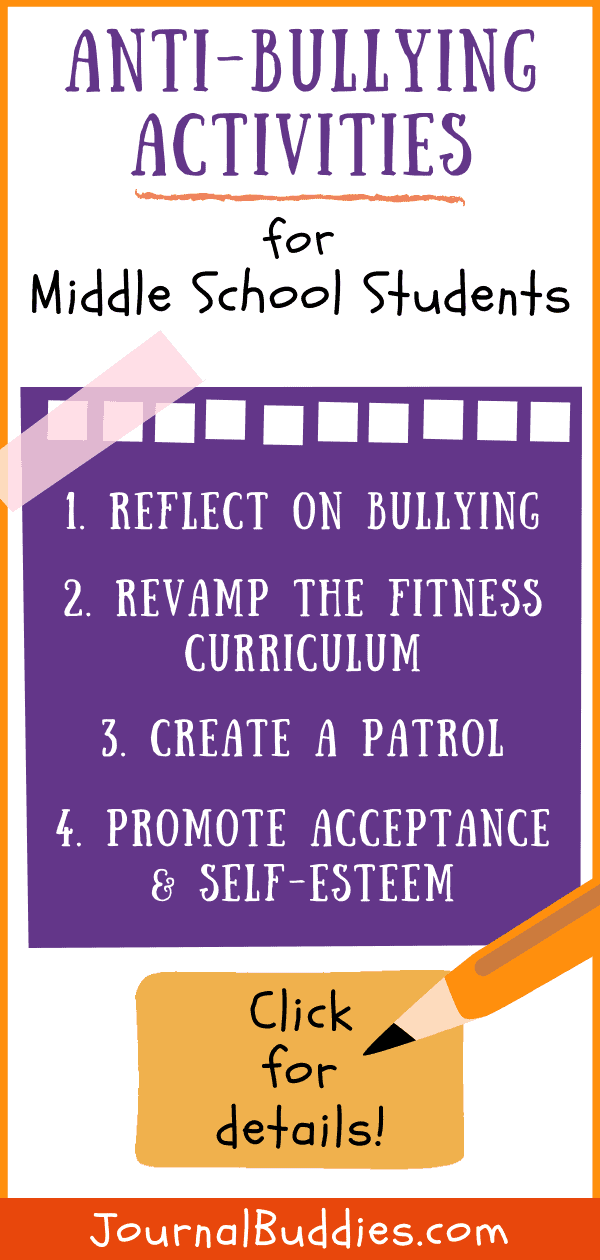 Middle School Anti-Bullying Activities