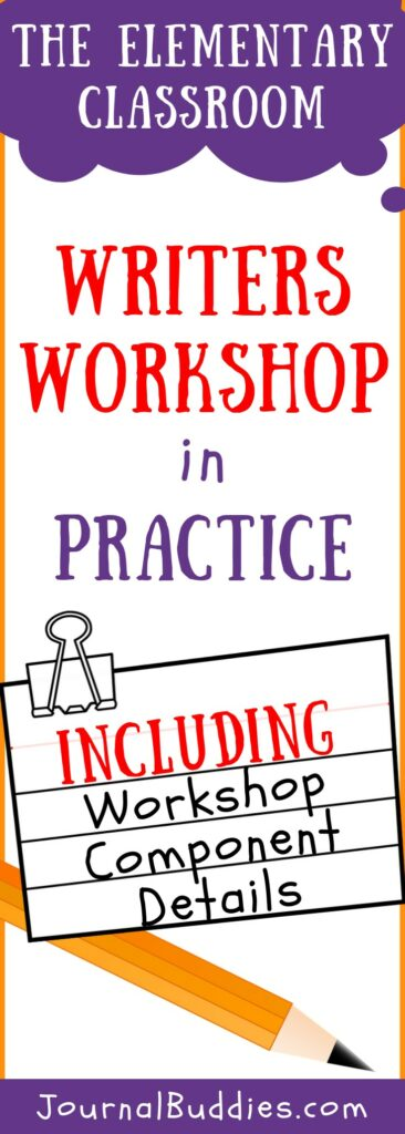 Elementary Writers Workshop Components and Practice
