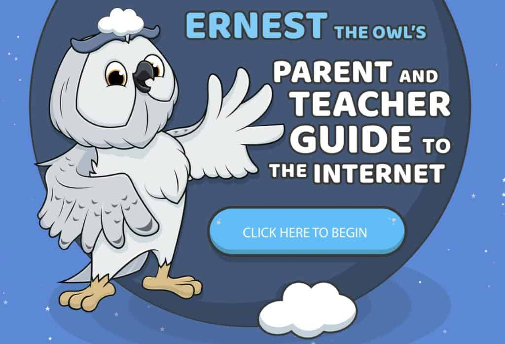 Ernest the Owl's Parent and Teacher Guide to the Internet