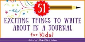 51 Exciting Things to Write About in a Journal