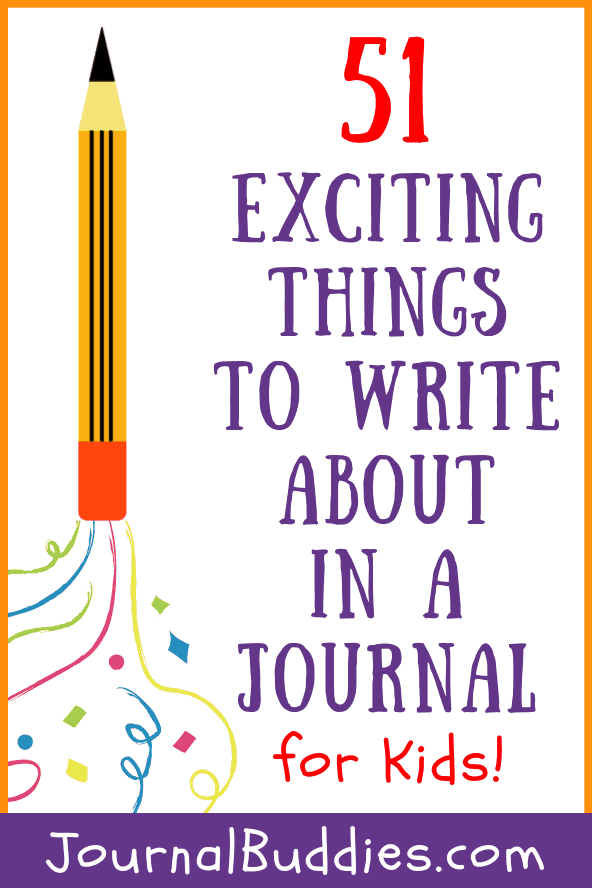 Exciting Writing Ideas for Kids Journals