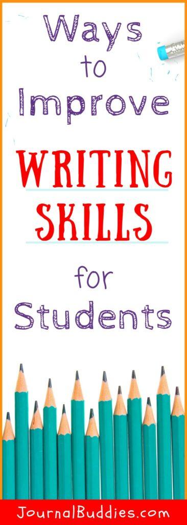 Students' Writing Skills Improvement Activities