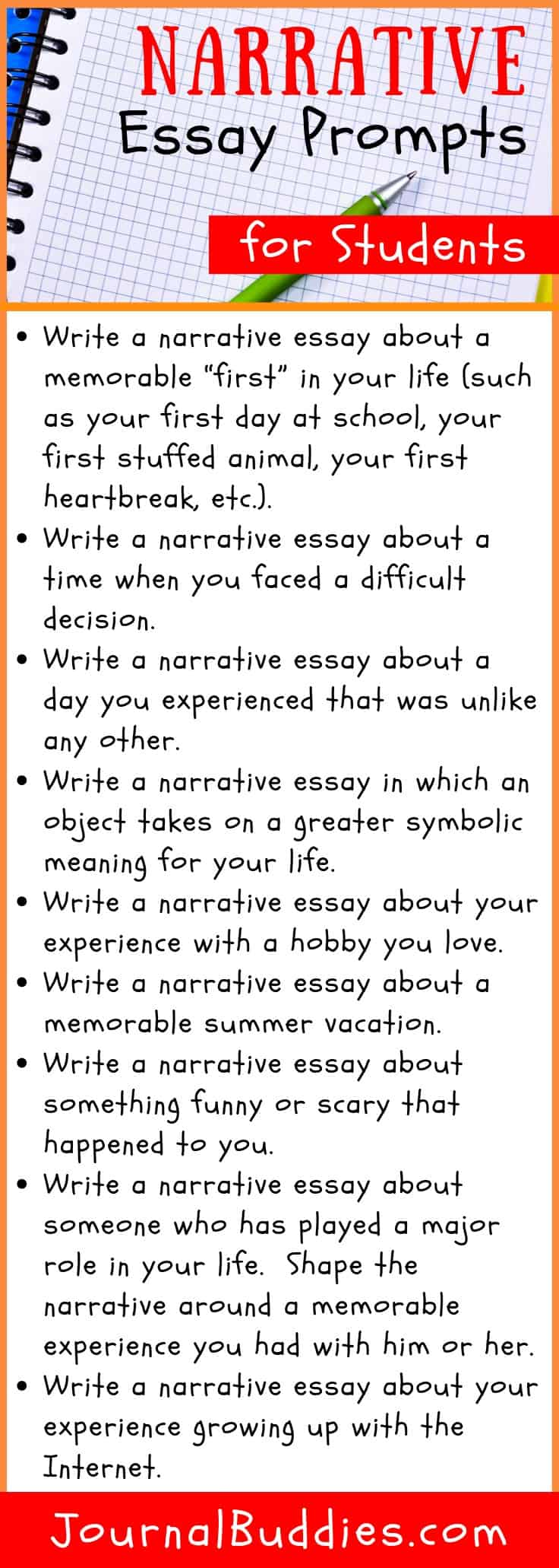 77 Best Topic Ideas For Narrative Essay - blogger.com