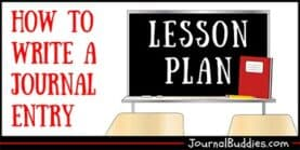 How to Write a Journal Entry Lesson Plan