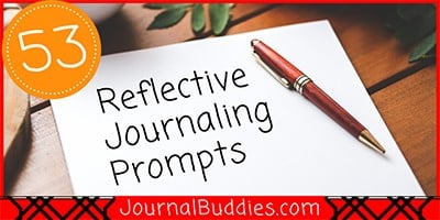 Reflective Writing Ideas