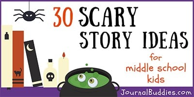 Scary Story Writing Prompts for Students
