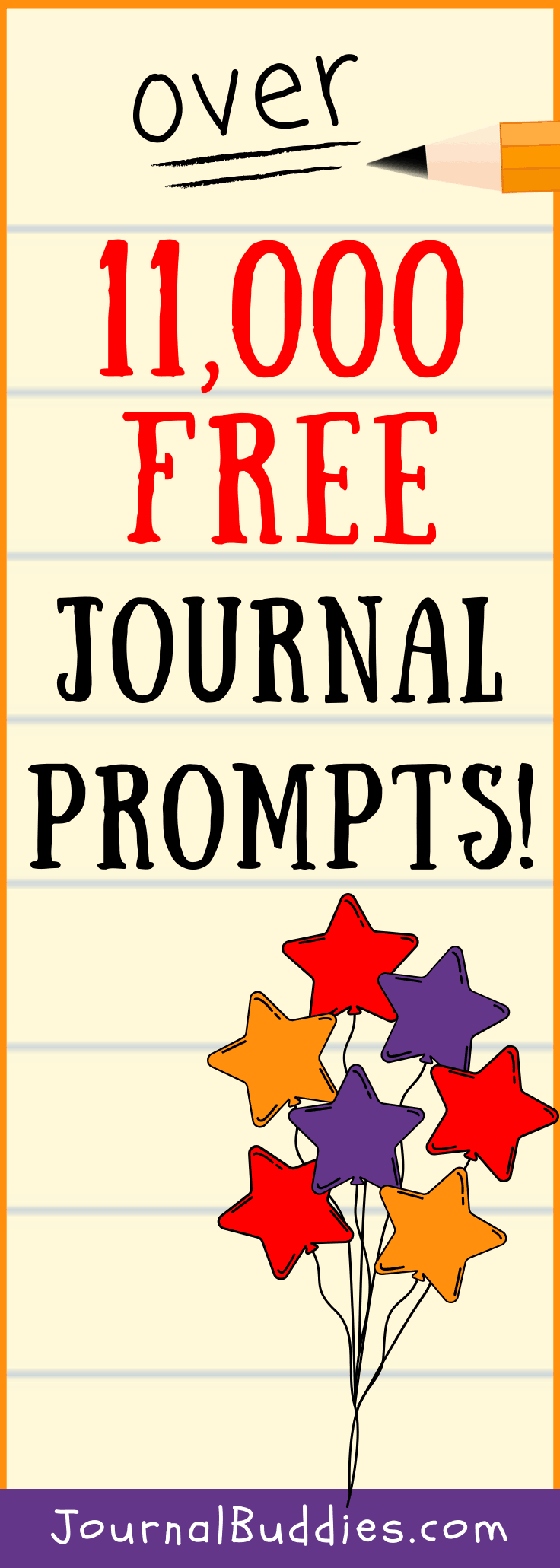 Over 11, 000 Free Writing Prompts and Journal Topics