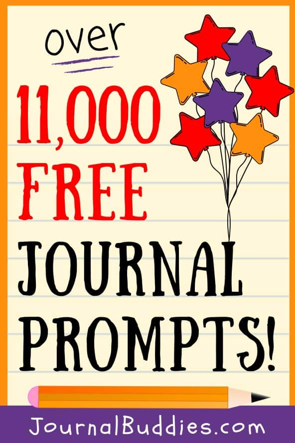 11, 000 Free Journal Prompts and Writing Ideas