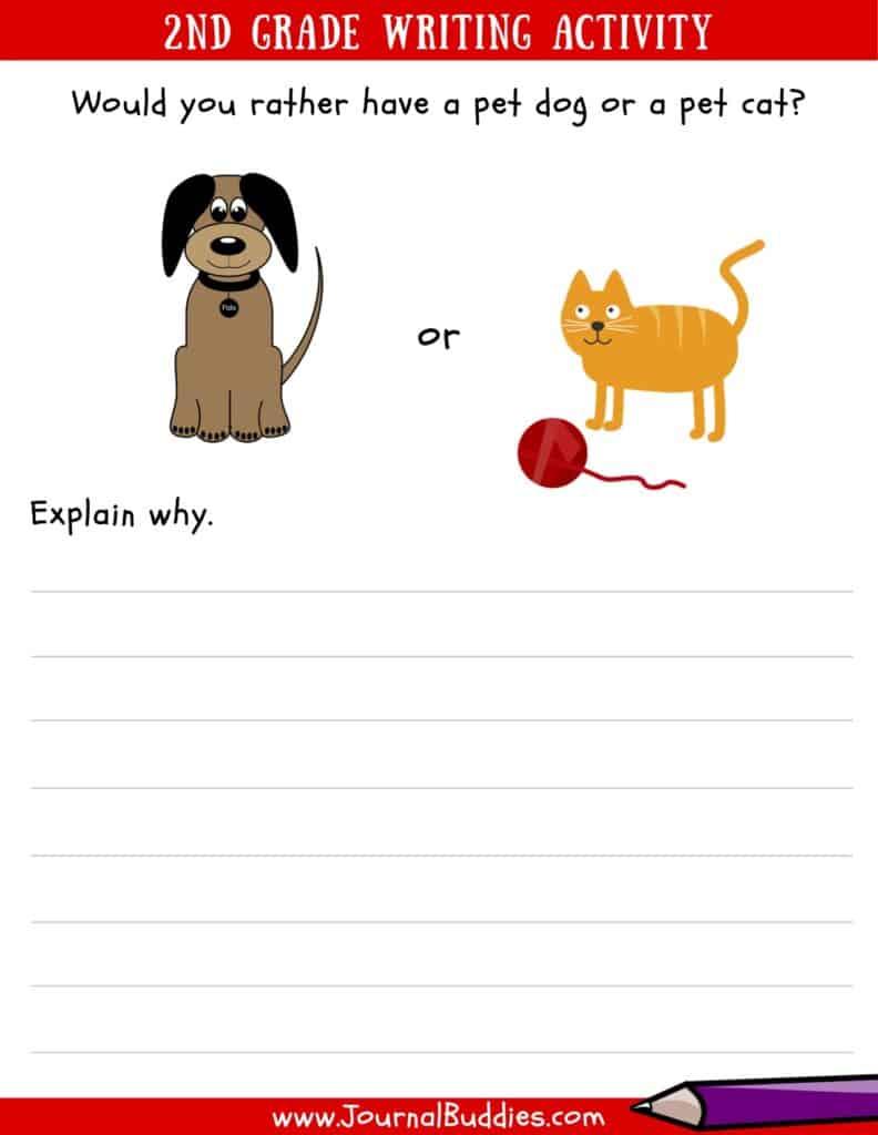 2nd Grade Writing Worksheets pdf