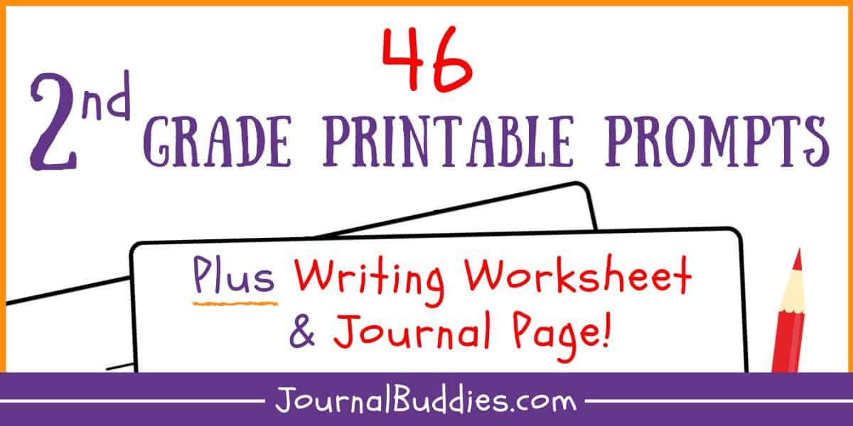 Writing Worksheets For 2nd Grade • JournalBuddies.com