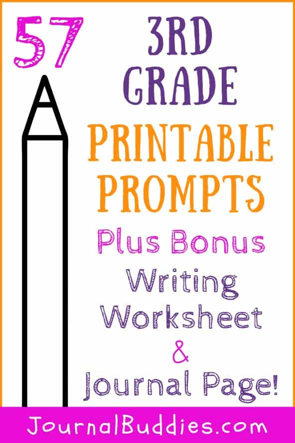 Writing Worksheets for 3rd Grade