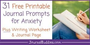 Writing Ideas for Anxiety