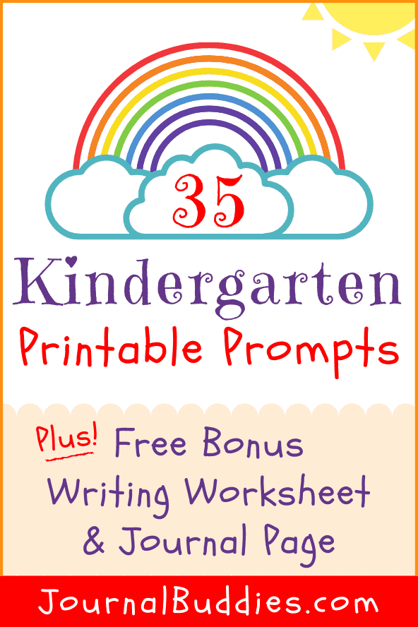 Printable Writing Prompts for Kindergarten
