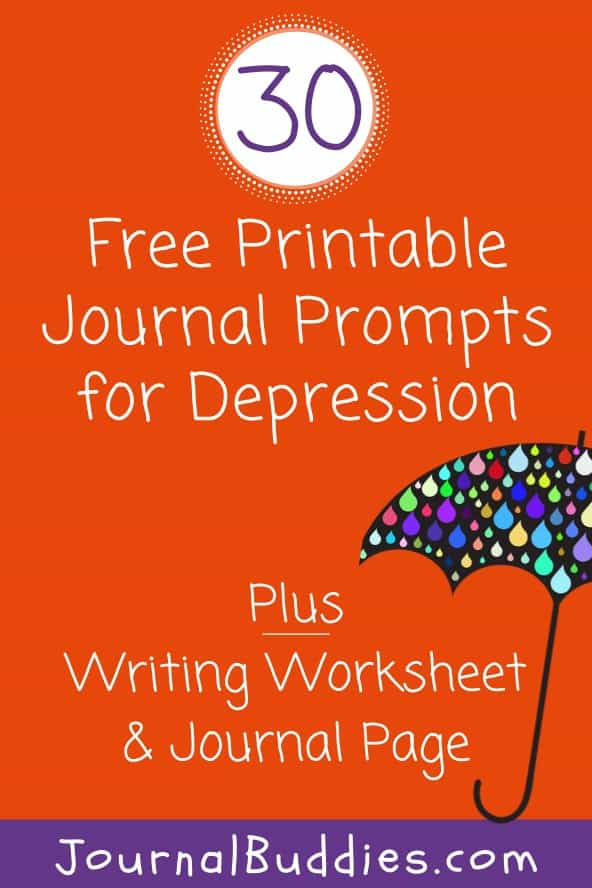 Printable Journal Ideas for Depression