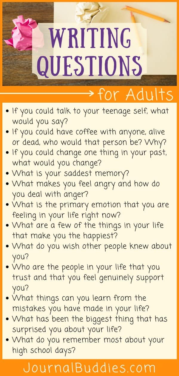 Great questions for younger kids