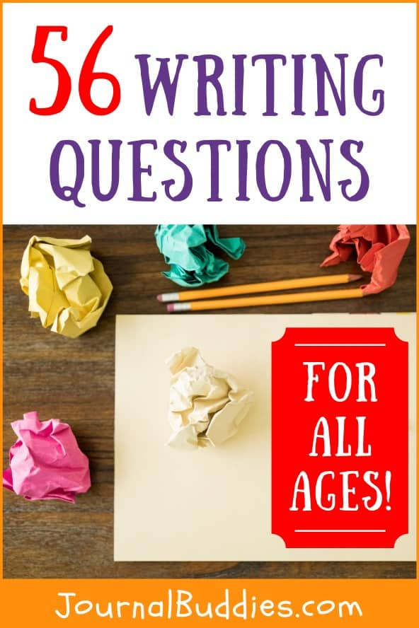 Questions Prompts for All Ages