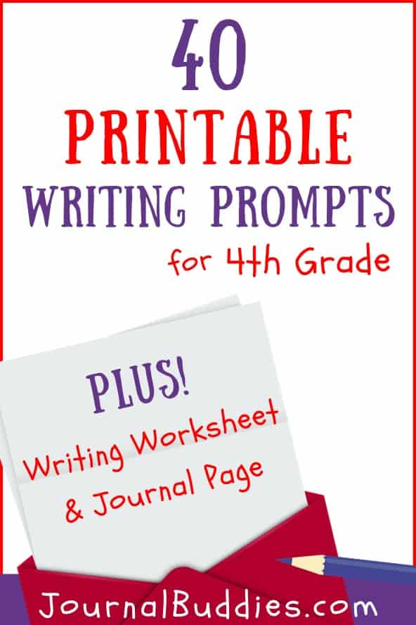 Grade 4 Printable Writing Prompts and Journal Pages