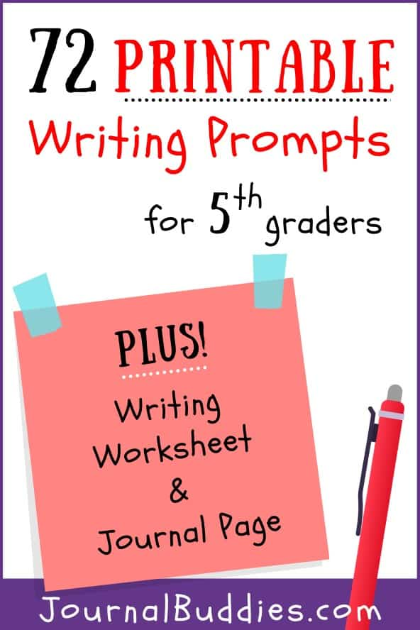 5th Grade Writing Resources and Writing Ideas