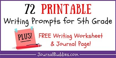 Grade 5 Free Writing Printables