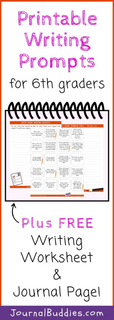 Free Printable Writing Worksheets for 6th Grade