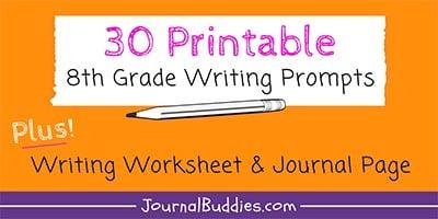 8th Grade Writing Worksheets