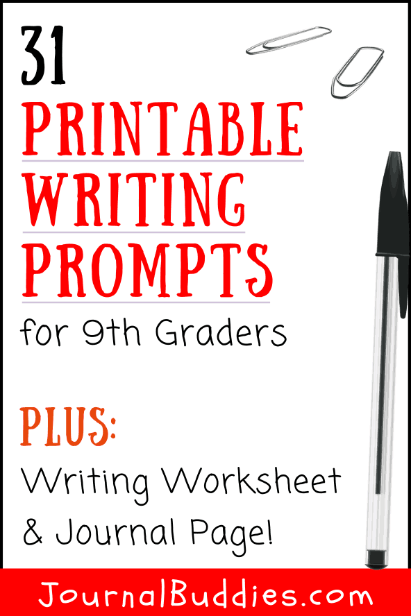 Printable Writing Worksheets for 9th Grade