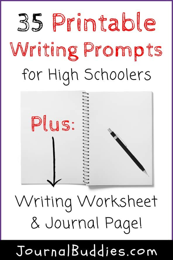 Printable Writing Worksheets for High School