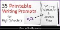 High School Writing Worksheets