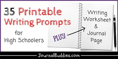 High School Printable Writing Prompts