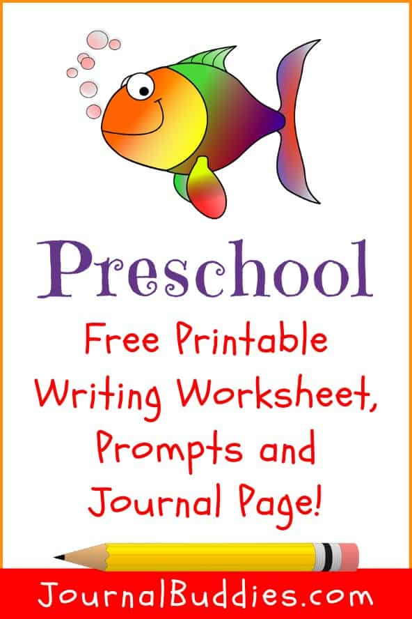 Free PreSchool Printable Writing Worksheets for