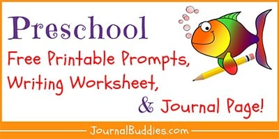 PreSchool Writing Resources and Printables
