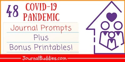 Pandemic Journal Prompts + Printable Pages