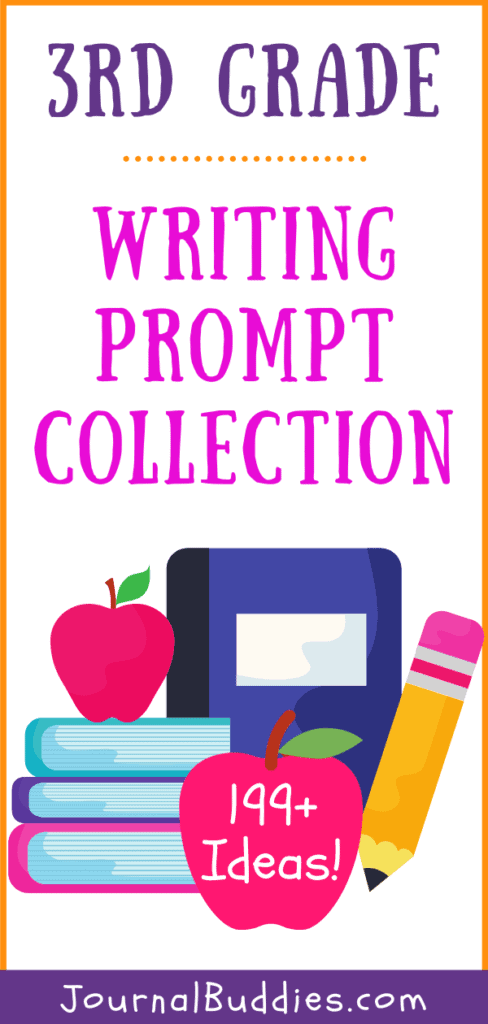 Collection of Third Grade Writing Prompts