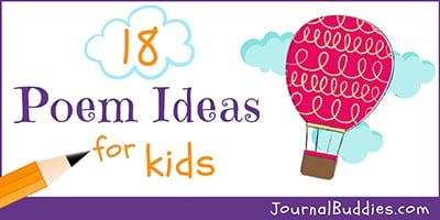 Poem Writing Prompts for Kids