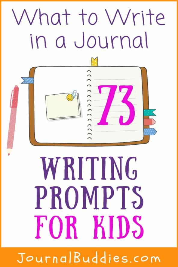 Middle School Journal Writing Topics