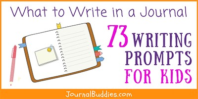 What to Write in a Journal Prompts for Kids