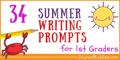 Summer Writing Ideas for 1st Grade