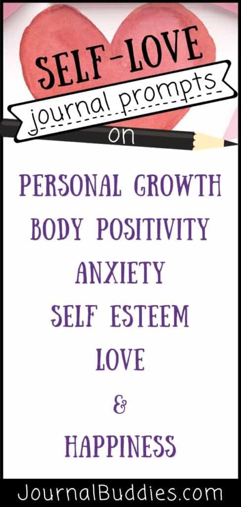 Journal Prompts on Self-Love