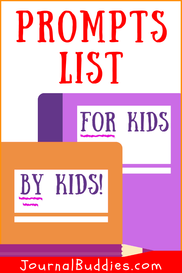 Kids Writing Prompts by Kids