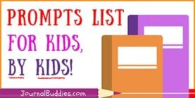 Prompts List for Kids by Kids!