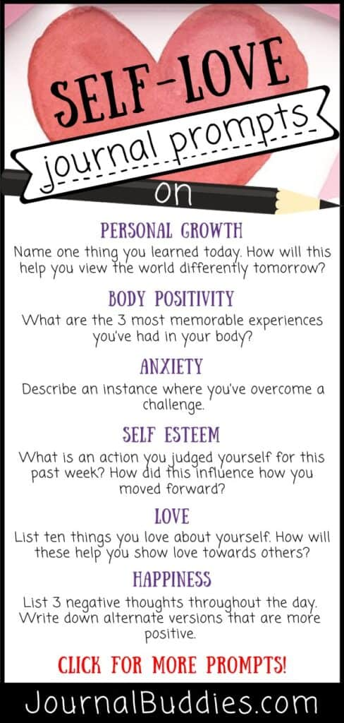 Journal Prompts for Loving Yourself