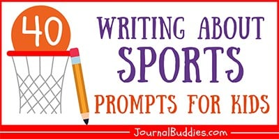 Writing About Sports Ideas for Kids